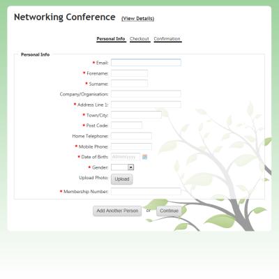 Sample+Registration+Form+3 Online Form Builder Tool on